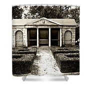 The Old Garden House Shower Curtain