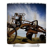 The Old Grader Shower Curtain