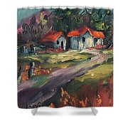 The Old Home Place Shower Curtain