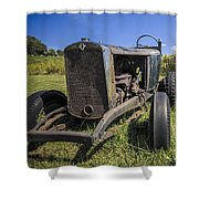 The Old Jalopy Shower Curtain