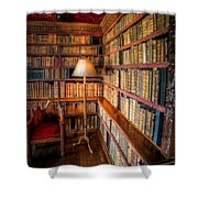 The Old Library Shower Curtain