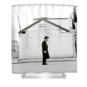The Old Man Of Mea Shearim Shower Curtain
