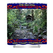 The Old Mill 2 Shower Curtain