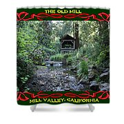 The Old Mill 3 Shower Curtain