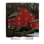 The Old Mill In Clinton Nj Shower Curtain