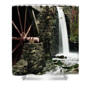 The Old Mill Shower Curtain