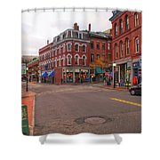 The Old Port 14477 Shower Curtain