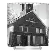 The Old Ridgway Firehouse Shower Curtain