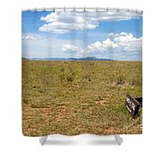 The Old Santa Fe Trail Shower Curtain