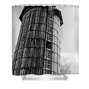 The Old Silo Shower Curtain
