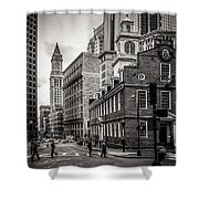 The Old State House Shower Curtain