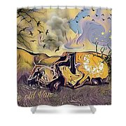 The Old Van Shower Curtain