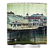 The Old Victorian West Pier Shower Curtain