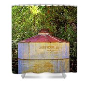 The Old Water Tank Shower Curtain