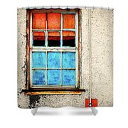 The Old Window Shower Curtain