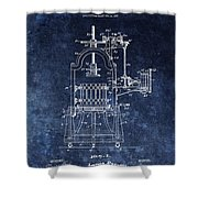 The Old Wine Press Shower Curtain