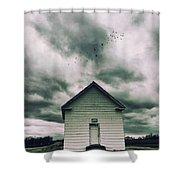 The Oldest Church In Dayton Shower Curtain