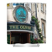 The Oliver Pub Shower Curtain