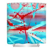 The Olympiad  Shower Curtain