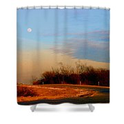 The On Ramp Shower Curtain