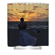 The One That Awakes The Sun Shower Curtain