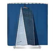 The One World Trade Centre Or Freedom Tower New York City Usa Shower Curtain