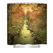The Onset Of Autumn Shower Curtain