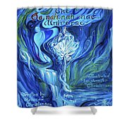 The Oonahnahmae Universe Book Cover Shower Curtain