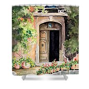 The Open Door Shower Curtain