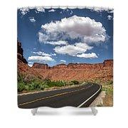 The Open Road - Utah Shower Curtain