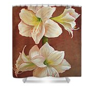 The Opening Flower Shower Curtain