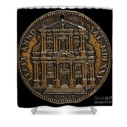 The Opening For Worship Of The Chiesa Del Gesu, Rome [reverse] Shower Curtain