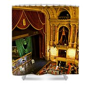 The Opera House Of Budapest Shower Curtain