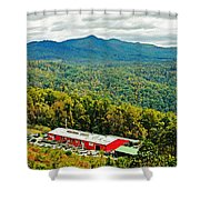 The Orchard At Altapass Shower Curtain