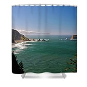 The Oregon Coast Shower Curtain