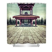 The Oriental Touch Shower Curtain