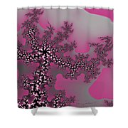 The Oriental Tree Shower Curtain
