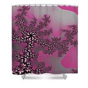 The Oriental Tree Shower Curtain