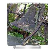 The Original Bell Of Oak Hill Cemetery Shower Curtain