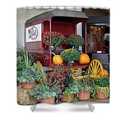 The Original Delivery Wagon Shower Curtain