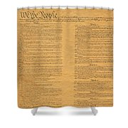 The Original United States Constitution Shower Curtain