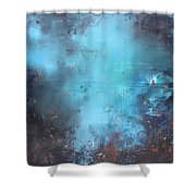 The Origins Of Life Shower Curtain