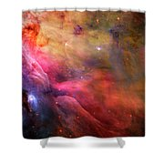 The Orion Nebula Close Up I Shower Curtain