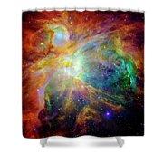 The Orion Nebula Close Up II Shower Curtain