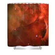 The Orion Nebula Close Up Iv Shower Curtain