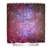 The Orion Nebula Region Shower Curtain