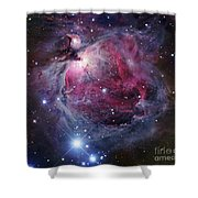 The Orion Nebula Shower Curtain by Robert Gendler