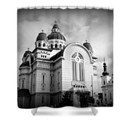 The Orthodox Cathedral And The Saint John The Baptist Church Shower Curtain