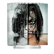 The Other Half Of Me Shower Curtain