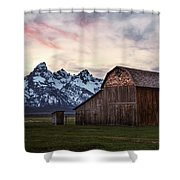 The Other Moulton Barn Shower Curtain